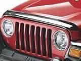 Jeep Wrangler 2007-2014 JK Tinted Bug Deflector W/Logo Mopar OEM