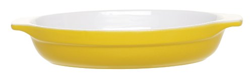 Emile Henry 10.75-Inch Oval Au Gratin Yellow
