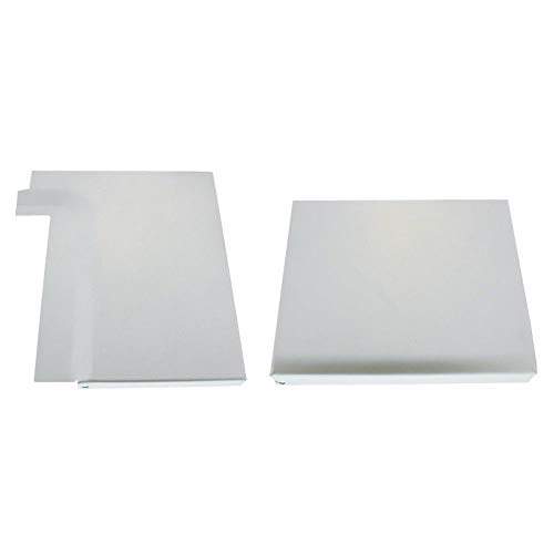 Filler Coated Plate (United Pacific 1966-77 Ford Bronco Wheelhouse Filler Plates, R/H, Coated in Weldable Primer)