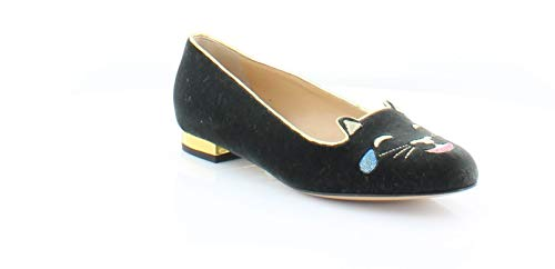 charlotte olympia Abstract Women's Flats & Oxfords Charcoal Size 7 M