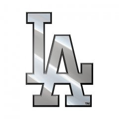 Team ProMark MLB Los Angeles Dodgers Metal Emblem, 3