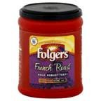 Folgers Coffee Ground French Roast Med-Dark 10.3OZ (Pack of 24)
