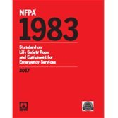 NFPA 1983: Standard on Life Safety Rope and Equipment for Emergency Services 2017 ed.