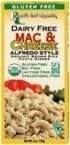 Road's End Organics Org Alfredo Mac & Cheese Gluten Free ( 12x6 OZ)