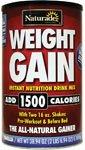 Naturade - Weight Gain мгновенных Питание Пить Mix Ваниль - 38,94 гр.