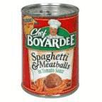 Chef Boyardee Spaghetti and Meatballs, 14.5-Ounce (Pack of 24)