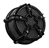 Kuryakyn 9572 Mach 2 Black Co-Ax Air Cleaner
