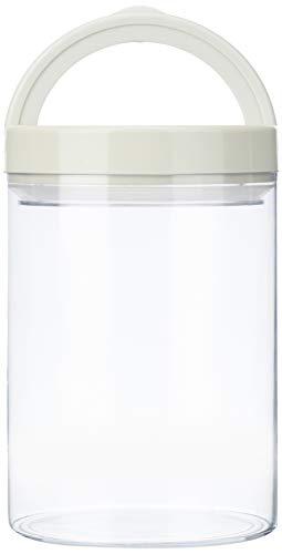 Amazon Brand - Solimo Airtight Plastic Storage Container (2 Pieces, 1000ml)