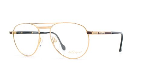 st-dupont-4-6051-gold-authentic-men-vintage-eyeglasses-frame