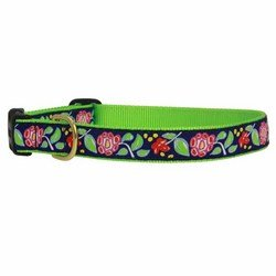 Up Country Posey Dog Collar or Martingale (Posey Collar, XS)