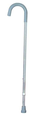 Essential Medical Supply Aluminum Adjustable Cane with Vinyl (Aluminum Walking)