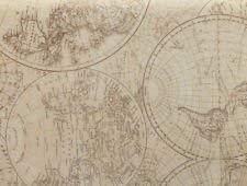 Historical World Maps//Globes Tissue Paper 10 Lg Sheets