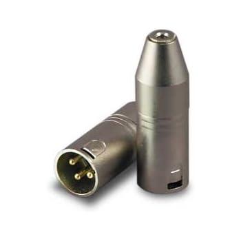 Campro Stereo 3.5mm Mini Female to Male XLR Audio Adaptor