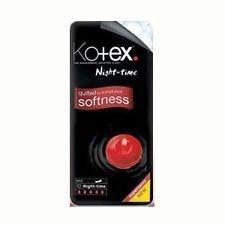 Kotex Maxi toallas de noche – 10 x Pack de 12