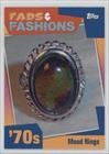 Mood Rings (Trading Card) 2011 Topps American Pie - Fads & Fashion #FF-13