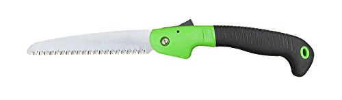 7 Inch Folding Saw, Pruner Flodable Saw 180MM, Fruit Tree Pruning Hand Saw, Camping Saw ()