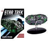 StarTrek Starships Borg Probe Vehicle with Collector Magazine - Borg Ship