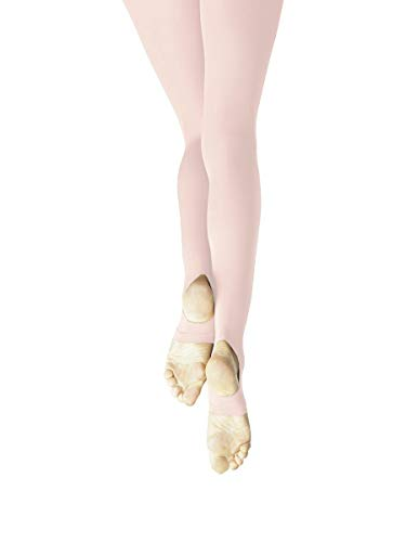 f08a03fac16 Capezio Ultra Soft Self Knit Waistband Stirrup Tight - Girls ...
