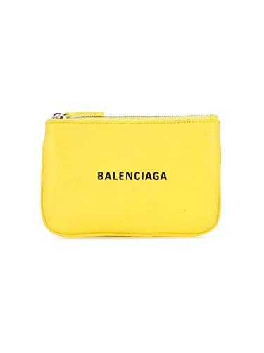 Balenciaga Cuero Sintético 551995dlq4n7160 Mujer Clutch Amarillo rwBTrx