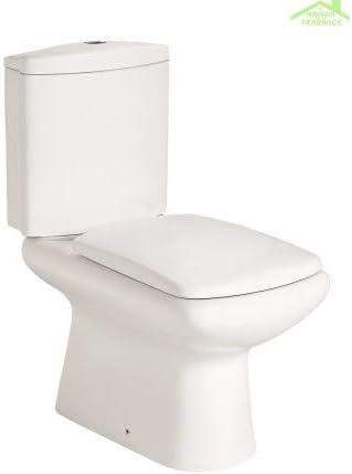 Pack de WC de Mesa MANARA 80 x 38 x 70 cm con Tapa de Freno de ...