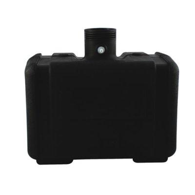 5 Gallon CARB/EPA Black Tank with 3.5'' Neck - 10.25'' L x 15'' W x 8.5'' H
