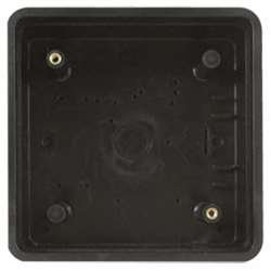 Square Mount Box, Plastic, Surface Mount