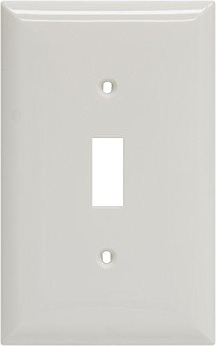 Jasco Wall Plate (GE 40020 Oversized Single Wall Plate, White)