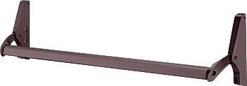 CRL Jackson Dark Bronze Finish 1085 Concealed Vertical Rod Panic Exit Device - 48''