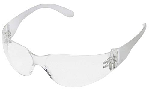 Condor V Uncoated Safety Glasses, Clear Lens Color