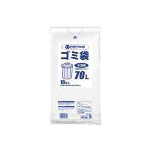 (業務用100セット) ジョインテックス ゴミ袋 LDD半透明 70L 10枚 N209J-70 B07PGCXC63