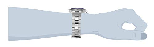 Invicta 23384 Pro Diver herr klocka rostfritt stål kvarts svart urtavla