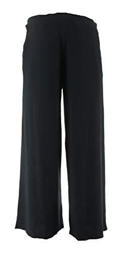 Belle Kim Gravel Wide Leg Lounge Pants Black XL New A307612 from Belle by Kim Gravel