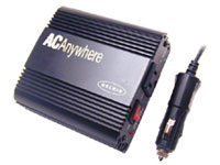 Belkin F5C400-140W AC Anywhere - DC to AC power inverter - 12 V - 140 Watt - 1 output connector(s) - Canada, United States from Belkin