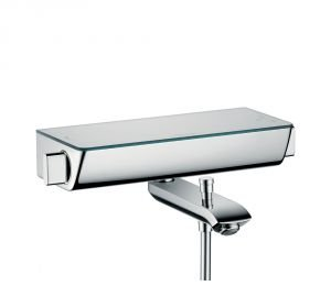 hansgrohe bathtub shower. hansgrohe ecostat select thermostatic bathtub shower mixer 13141