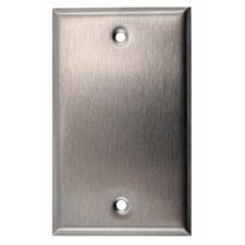 Anodized Aluminum Wall Plate - 6