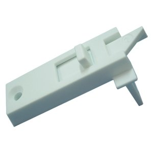 One Pair of White Window Sash Tilt Latches for Tilt Window, 2803WHITE