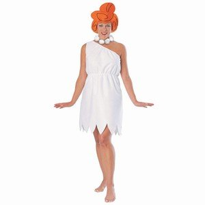 Wilma Flintstone Adult Costume (Wilma And Fred Halloween Costumes)