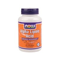 Now Foods Alpha Lipoic Acid 600 mg - 120 Veg Capsules 3 Pack by NOW Foods