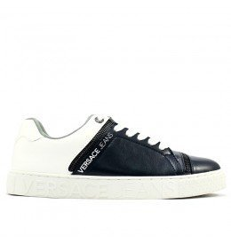 Scarpa Uomo Versace Jeans Blu/Bianco 44EU E0YPBSE2: Amazon ...