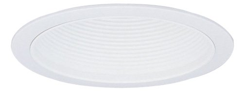 ELM302 Elco Lighting ELM302W 6 Airtight Metal Baffle Cone with Clips and Plastic Trim Ring