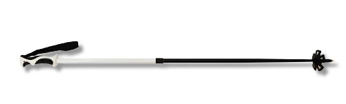 Swix Adjustable Aluminum Ski Pole, 2-Piece, White, 110 cm-150 cm by Swix