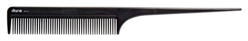 - Diane Ionic DBC043 Anti-Static Rat Tail Comb, Black