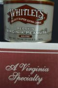Whitley's Virginia Redskin Peanuts - Select Hand Cooked Super Extra Large Salted - 2 Pack (20 oz per tin) (Extra Large Peanuts Tin)