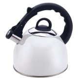 Culinary Edge 50421 Tea Kettle, 2.5-Quart, Black