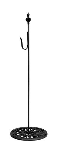 ath Hanger Metal Free Stand 30 Inches Black ()