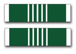 - Military Vet Shop US Army Commendation Medal Ribbon Vinyl Transfer Window Bumper Sticker Decal 3.8
