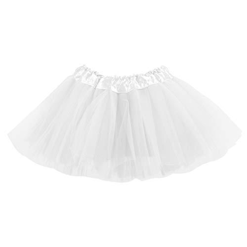 belababy Baby Girls Skirt White Tutu Dress Up Costume, 0-24Months ()