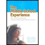 The Middle School Experience: Successful Teaching And Transition Planning for Diverse Learners