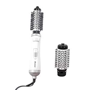 SHINON Hot Air Brush Women Round Spin Brush 2 Brush Hair Dryer European Voltage 220V Target AB-155943