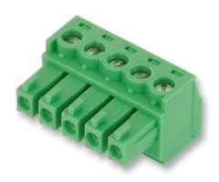 PHOENIX CONTACT - 1803604 - TERMINAL BLOCK PLUGGABLE, 5POS, 28-16AWG